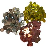 Metallic 10mm Circular Foil Confetti 30g