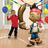 """Jake & The Neverland Pirates 75"""" Airwalker Foil Balloon"""