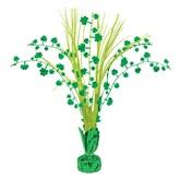 St. Patrick's Day Shamrock Spray Centrepiece