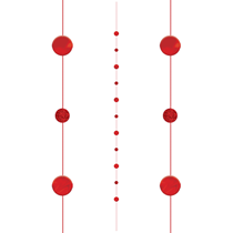 Red Dots Balloon Tail