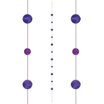 Purple Dots Balloon Tail