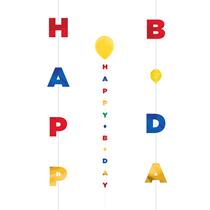 Primary Happy Birthday Balloon Tail