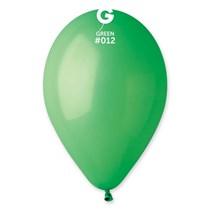 """Gemar Standard Green 13"""" Latex Balloons 100pk"""
