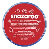 Snazaroo Classic Bright Red Face Paint 18ml pot