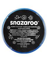 Snazaroo Face Paint Classic Black 18ml pot