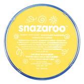 Snazaroo Face Paint Classic Bright Yellow 18ml pot