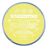 Snazaroo Face Paint Classic Pale Yellow 18ml pot