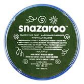 Snazaroo Face Paint Classic Dark Green 18ml pot