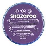 Snazaroo Face Paint Classic Purple 18ml pot