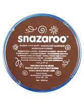 Snazaroo Face Paint Classic Light Brown 18ml pot