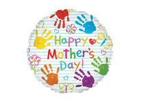 """Mother's Day Crayons 17"""" Foil Balloon"""