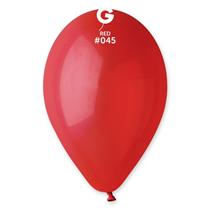 """Gemar Standard Red 13"""" Latex Balloons 100pk"""