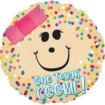 "One Tough Cookie 17"" Foil Balloon"