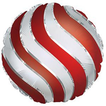 """Red Tree Ornament Bauble 17"""" Foil Balloon"""