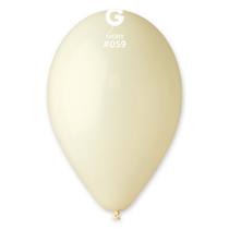 "Gemar Standard Ivory 12"" Latex Balloons 100pk"