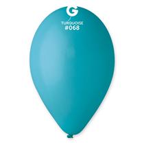 "Standard Turquoise 12"" Latex Balloons 100pk"