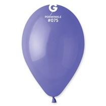 "Gemar Standard Periwinkle 13"" Latex Balloons 100pk"