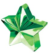 Green 6oz Star Balloon Weight