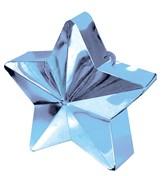 Light Blue 6oz Star Balloon Weight