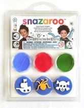 Snazaroo Pirate Stamp Set