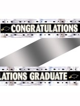 Congratulations Graduate Foil Banner 2.7m