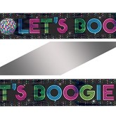 70s Disco Foil Banner