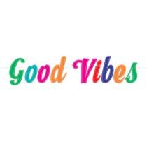Good Vibes Felt 5ft Letter Banner