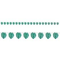 Green Palm Leaf 18ft Banner