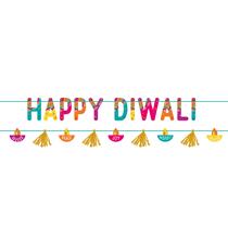 Happy Diwali 2 Piece Colourful Decorating Kit