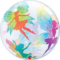 "Magical Fairies & Sparkles 22"" Bubble Balloon"