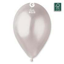 "Gemar Metallic Pearl 11"" Latex Balloons 50pk"