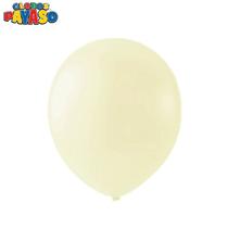 """Macaroon Vanilla 12"""" Latex Balloons 100pk"""