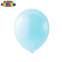 "Macaroon Blueberry 12"" Latex Balloons 100pk"