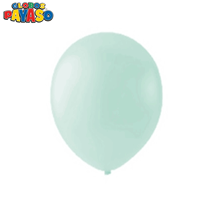 "Macaroon Mint 12"" Latex Balloons 100pk"