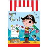 Rachel Ellen Pirate Paper Party Bags 8pk