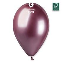 """Gemar Shiny Pink 12"""" Latex Balloons 50pk"""