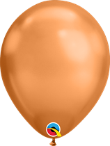 qualatex chrome copper latex balloons 100 pack