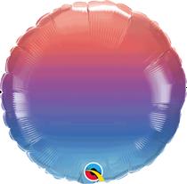 """Winter Ombre 18"""" Foil Balloon"""