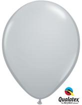"Qualatex Fashion 11"" Grey Latex Balloons 100pk"