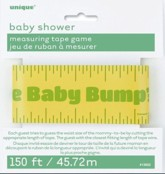 Baby Shower Measuring Tape Game
