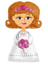 "Bride Airwalker 50"" Foil Balloon"