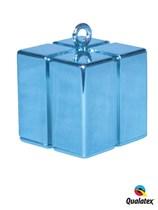 Light Blue 3.9oz Gift Box Balloon Weight