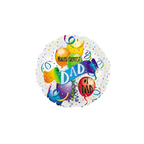 """Father's Day World's Greatest Dad 9"""" Foil Balloon"""