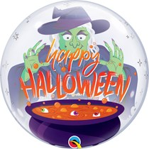 """Halloween Witch's Brew 22"""" Bubble Balloon"""