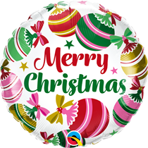 "Christmas Ornaments 18"" Foil Balloon"