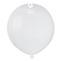 "Gemar Standard White 19"" Latex Balloons 10pk"