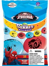"""Spiderman Assorted Quick Link 12"""" Latex Balloons 10pk"""