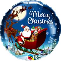 """Christmas Traditional St. Nick. 18"""" Foil Balloon"""