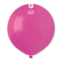 "Gemar Standard Fuchsia 19"" Latex Balloons 10pk"