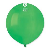 """Gemar Standard Green 19"""" Latex Balloons 10pk"""